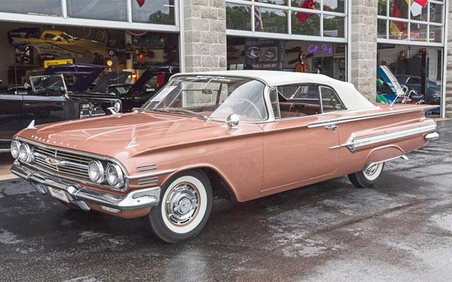 1960 Chevy Impala Convertible - My Dream Car