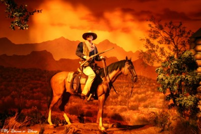 John Wayne, Great Movie Ride, Disney's Hollywood Studios
