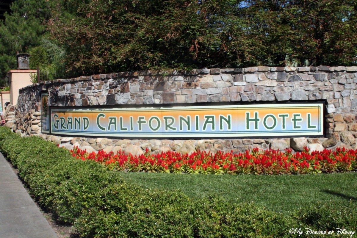 Disneyland - The Grand Californian Hotel