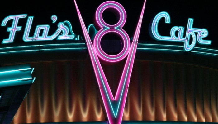 The Blogorail: Flo's V8 Cafe at Disneyland Resort