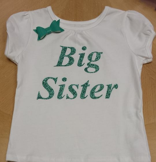 Big Sister Little Sister shirts and onesies Vinyl designs Your - onesies designs