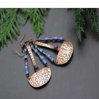 Handmade Copper Earrings in Pakistan