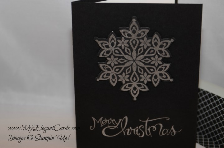 Stampin' Up! Festive Flurries and Sassy Salutations