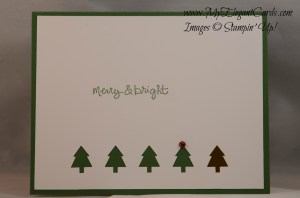 Stampin' Up! Merry Mini Punches