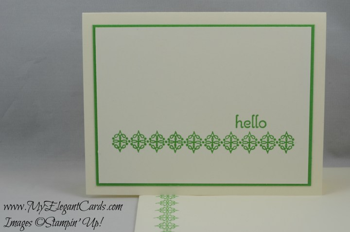 Stampin' Up! Because You Care
