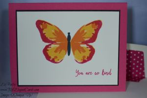 Stampin' Up! Watercolor Wings