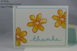 Stampin' Up! Garden in Bloom and Greetings Thinlits dies