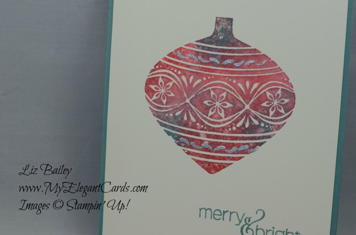 Stampin' Up! Embellished Ornaments and Paper Pumpkin Mistletoe and Holly