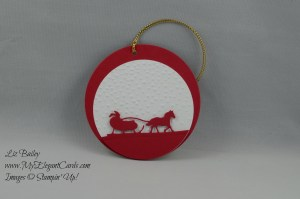 Stampin' Up! Sleigh Ride Edgelits Dies