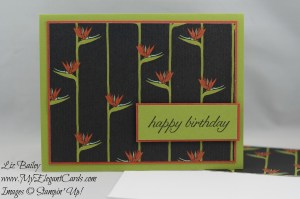 Stampin' Up! Botanical Gardens DSP