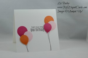 Stampin' Up!Balloon Celebrations