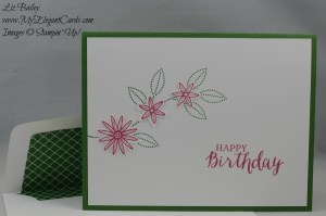 Stampin' Up! Grateful Bunch and Rose Wonder