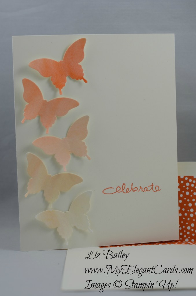 Stampin' Up! Endless Birthday Wishes and Elegant Butterfly punch