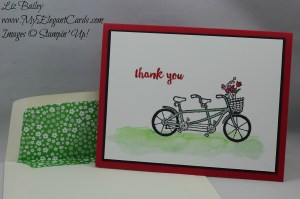 Stampin' Up! Pedal Pusher and Paper Pumpkin Hello Sunshine