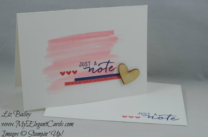 Stampin' Up! Watercolor Wishes kit