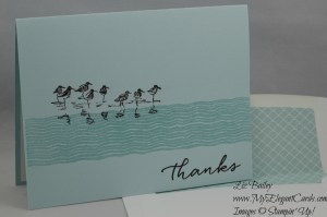 Stampin' Up! Chalk Lines and Wetlands