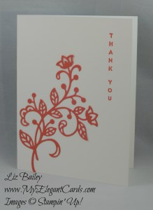 Stampin' Up! Flourish thinlits dies