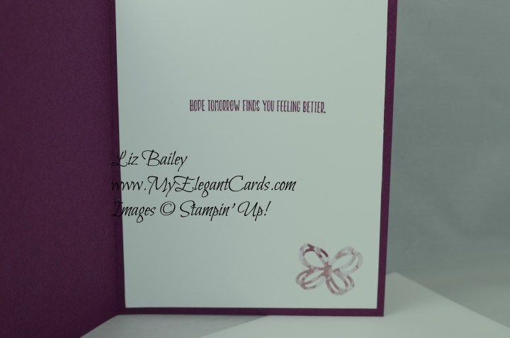 Stampin' Up! Sunshine Wishes thinlits dies and Blooms and Bliss DSP
