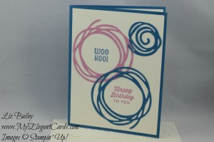 Stampin' Up! Swirly Scribbles and Sunburst Sayings