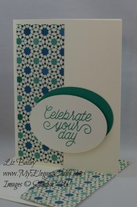 Stampin' Up! Moroccan DSP and designer tin of cards