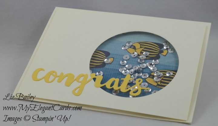 Stampin' Up! Seaside Shore - By the Shore DSP - Hello You Thinlits dies