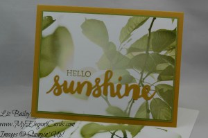 Stampin' Up! Serene Scenery DSP
