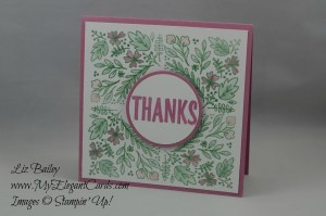 Stampin' Up! Bold Botanicals - Paper Pumpkin August 2016 Alternate