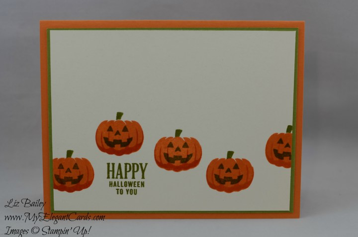 Liz Bailey Stampin' Up! Demonstrator - Paper Pumpkin September 2016 Alternate - Something Good To Eat