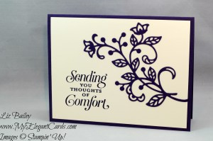 Liz Bailey Stampin' Up! Demonstrator - Flourish Thinlits Dies - Suite Seasons