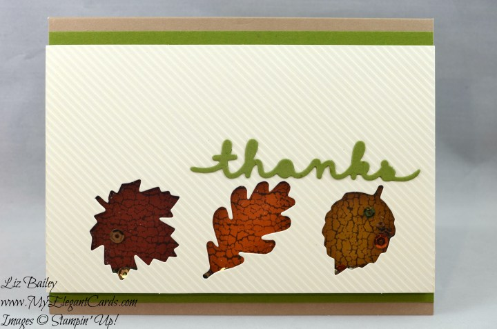 Liz Bailey Stampin' Up! Demonstrator - Paper Pumpkin October 2016 Alternate 4 - Season of Gratitude