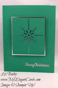 Liz Bailey Stampin' Up! Demonstrator - Starlight Thinlits Dies - Star of Light