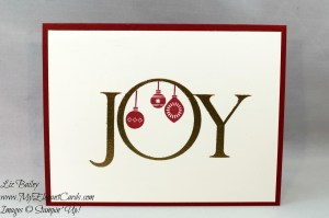 Liz Bailey Stampin' Up! Demonstrator - Joyful Nativity - Cozy Critters