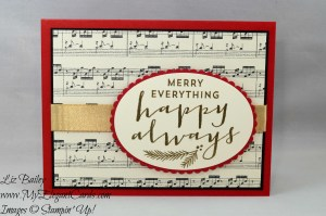 Liz Bailey Stampin' Up! Demonstrator - Suite Seasons - This Christmas DSP Paper