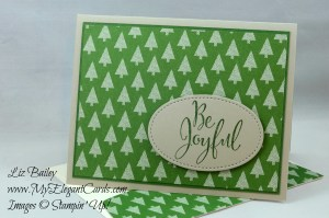 Liz Bailey Stampin' Up! Demonstrator - Merriest Wishes - Warmth and Cheer DSP stack - Stitched Shapes Framelits Dies
