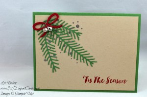 Liz Bailey Stampin' Up! Demonstrator - Christmas Pines - Pretty Pines Thinlits Dies