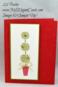 Liz Bailey Stampin' Up! Demonstrator - Vertical Greetings - Lucky TIEF