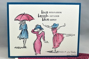 Liz Bailey Stampin' Up! Demonstrator - Beautiful You - Blooms & Bliss DSP