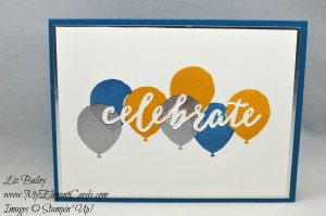 Liz Bailey Stampin' Up! Demonstrator - Celebrations Duo TIEFs - Balloon Celebration