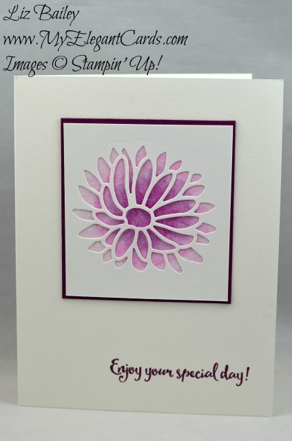 Liz Bailey Stampin' Up! Demonstrator - Stylish Stems - Detailed Dragonfly Thinlits Dies