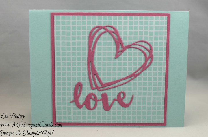 Liz Bailey Stampin' Up! Demonstrator - Tasty Treats Designer Series Paper - Sunshine Wishes thinlits dies