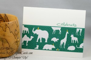 Liz Bailey Stampin' Up! Demonstrator - Party Animal DSP - Endless Birthday Wishes