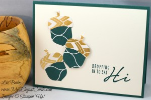 Liz Bailey Stampin' Up! Demonstrator - Eastern Palace DSP - Acorny Thank You - Acorny Builder Punch