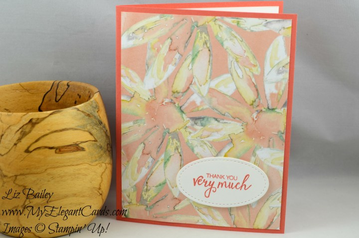 Liz Bailey Stampin' Up! Demonstrator - Delightful Daisy DSP - Bunch of Blossoms