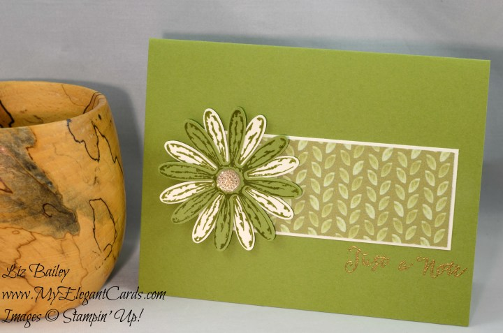 Liz Bailey Stampin' Up! Demonstrator - Delightful Daisy DSP - Daisy Delight - Soft Sayings Card Kit