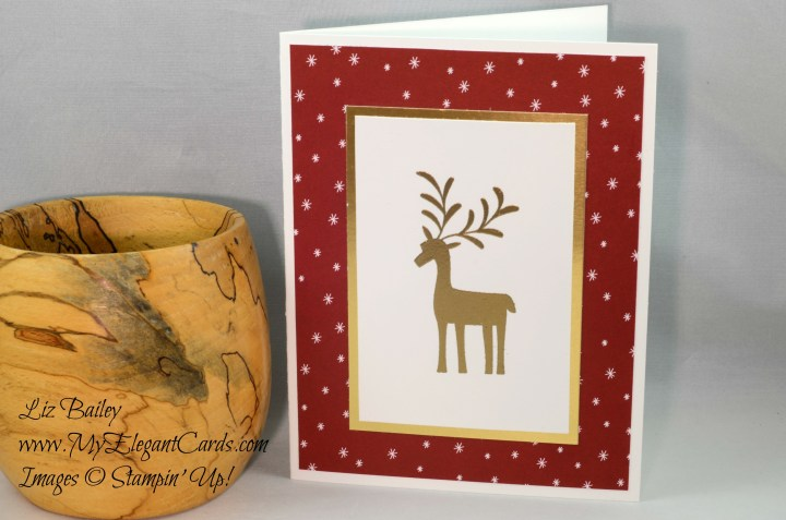 Liz Bailey Stampin' Up! Demonstrator - Merry Mistletoe - Be Merry DSP