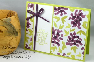 Liz Bailey Stampin' Up! Demonstrator - Ribbon of Courage - Naturally Eclectic DSP