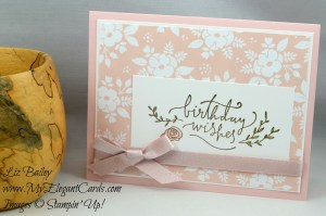 Liz Bailey Stampin' Up! Demonstrator - Happiest of Days - Whole Lot of Lovely DSP