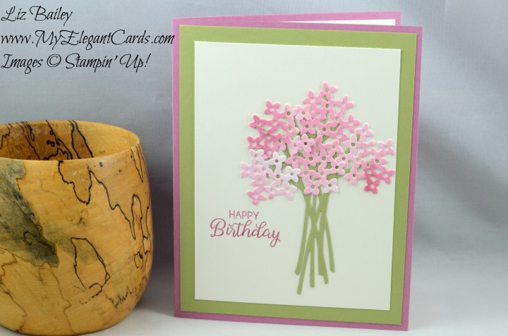 Liz Bailey Stampin' Up! Demonstrator - Beautiful Bouquet - Bouquet Bunch Framelits Dies - Beautiful Bouquet Photopolymer bundle