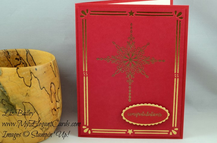 Liz Bailey Stampin' Up! Demonstrator - Card Front Builder Thinlits Dies - Star of Light - Happy Birthday Gorgeous