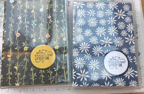 Liz Bailey Stampin' Up! Demonstrator - Fresh Florals DSP stack - Crafting Forever - Layering Love